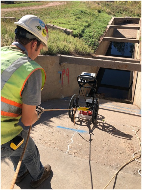 GPR Data Acquisition, Olson Engineering