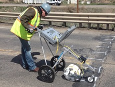 Concrete Bridge Deck Scanning